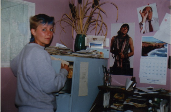 Me in office 1987